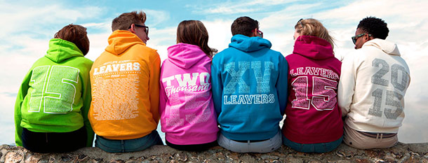 School leavers hoodies 2015